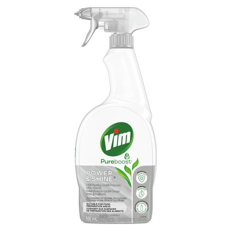 Vim Power Amp Shine Cleaner With Bleach Cleaner 700ml