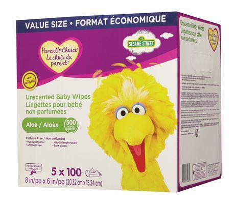 Lingettes pour bébé non parfumées Le choix du parent  - format économique - image 3 de 3