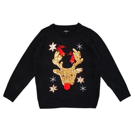 George Womens Ugly Christmas Sweater Reindeer Walmart Canada