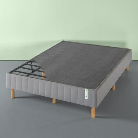 Zinus Quick Snap Standing Mattress Foundation / Strong Steel Structure / Box Spring Not Requrired, Grey - image 3 of 6