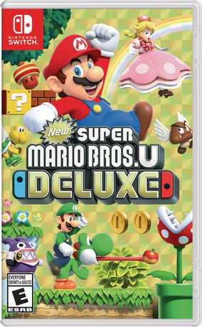 New Super Mario Bros. U Deluxe (Nintendo Switch) - image 1 of 9