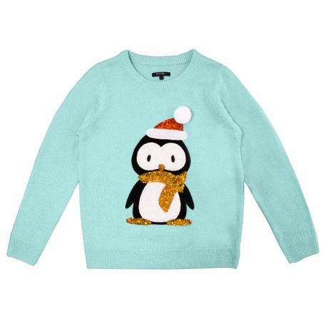 George Womens Ugly Christmas Sweater Penguin Walmart Canada