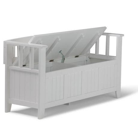 banc de rangement normandy pour l 39 entr e de wyndenhall walmart canada. Black Bedroom Furniture Sets. Home Design Ideas