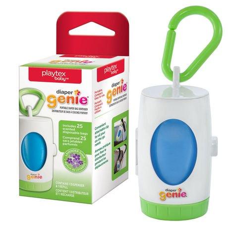 Distributeur de sacs à couches portatif Diaper GenieMDde PlaytexMD | Walmart Canada