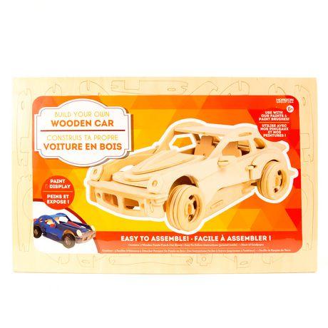 Assemble ton propre puzzle Horizon Group USA de voiture 3D en bois - image 1 de 1