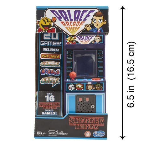 Stranger Things Palace Arcade Handheld Electronic Game Ages 14 and Up - image 6 of 6