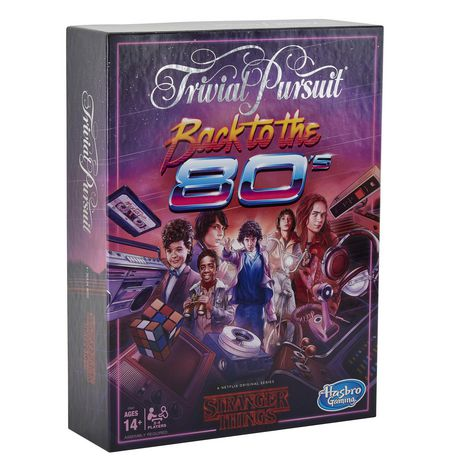 The board game Trivial Pursuit with a Stranger Things theme