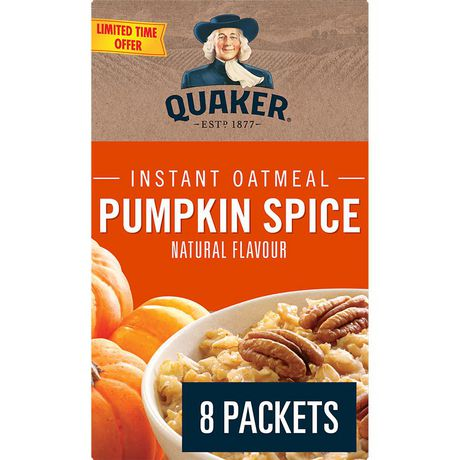 Quaker Pumpkin Spice Instant Oatmeal - image 1 of 5
