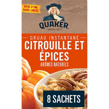 Quaker Pumpkin Spice Instant Oatmeal - image 2 of 5