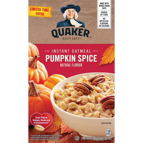 Quaker Pumpkin Spice Instant Oatmeal - image 3 of 5