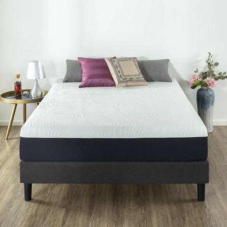 zinus 11 gel memory foam mattress. Black Bedroom Furniture Sets. Home Design Ideas