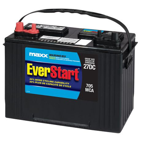 everstart marine rv battery premium deep cycle power maxx walmart canada. Black Bedroom Furniture Sets. Home Design Ideas