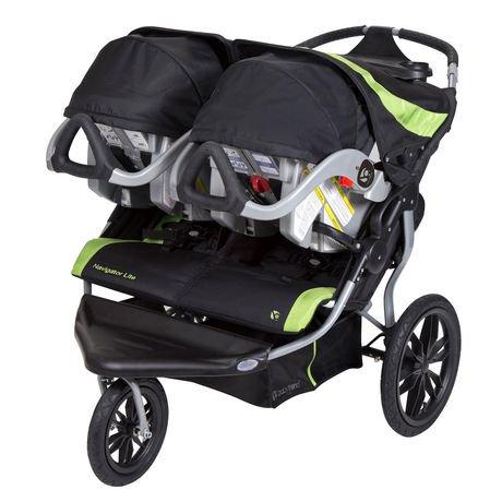 poussette double 3 roues baby trend