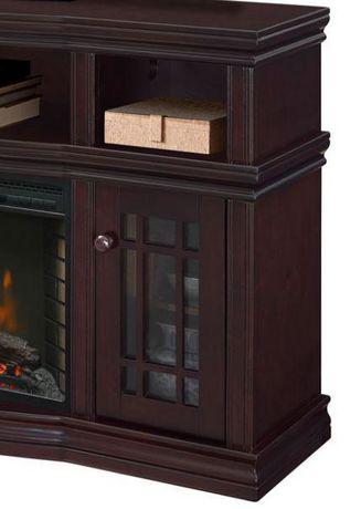 Muskoka Sutton 56 Quot Espresso Media Electric Fireplace
