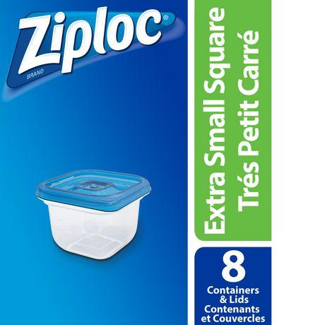 Ziploc brand Contenants Tres Carre Petit - image 1 de 1