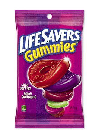 Lifesavers Life Savers Gummies Candy - Wildberries, 180 G - image 1 of 1