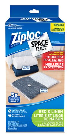 Sc Johnson And Son Ltd Ziploc 174 Brand Bags Space Bag 174 Bed