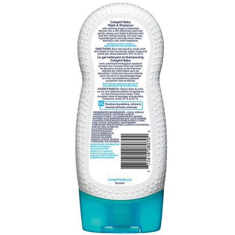 Gel nettoyant et shampoing de Cetaphil Baby - image 2 de 6