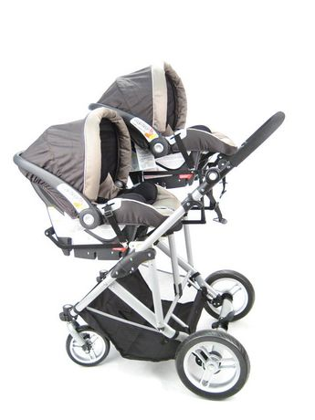 StrollAir My Duo Twin Stroller | Walmart Canada