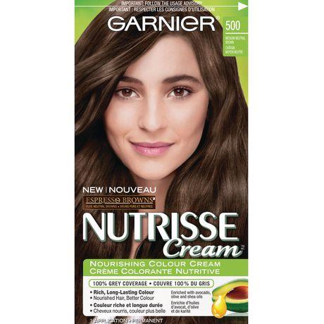 Crème colorante nutritive Espresso Browns Crème Nutrisse de Garnier 500 Châtain moyen neutre - image 1 de 1