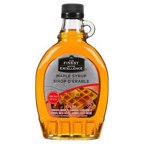 697572c7feb Our Finest Canada  1 Medium Pure Maple Syrup - image 1 of 1 ...