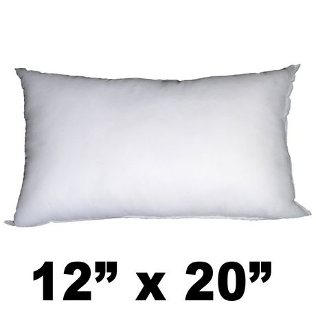 Hometex Rectangular Polyester Fill Pillow Form Walmart Canada