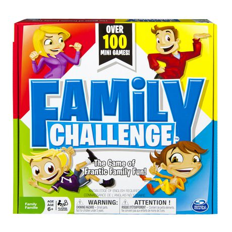 Spin Master Games - Beat The Parents Family Challenge Board Game - image 1 of 4