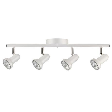pictures of track lighting. Melo 4-Light Track Lighting, Glossy White Finish, Bulbs Included | Walmart Canada Pictures Of Lighting