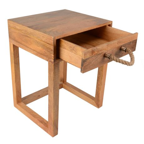 hometrends Wood Table - image 2 of 3