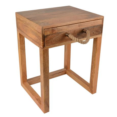hometrends Wood Table - image 1 of 3
