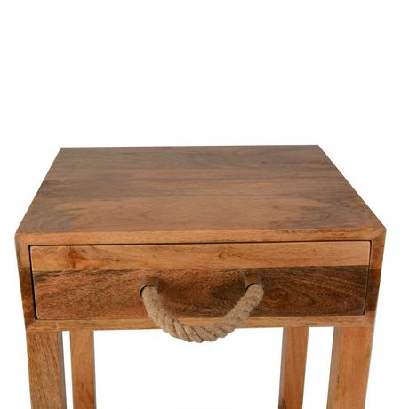 hometrends Wood Table - image 3 of 3