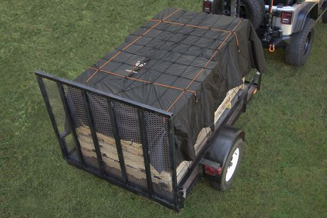 Rightline Gear Truck Bed Cargo Net with Built-In Tarp - image 2 of 6