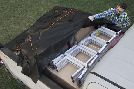 Rightline Gear Truck Bed Cargo Net with Built-In Tarp - image 4 of 6