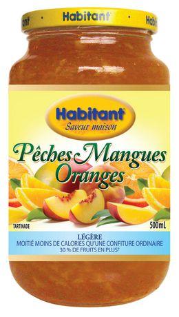 Tartinade légère aux pêches, mangues et oranges d'Habitant - image 1 de 3