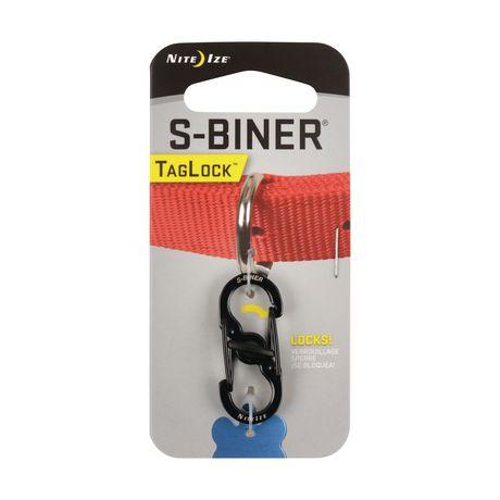 NITE IZE S-Biner Taglock - Black - image 1 of 3