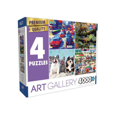Sure-Lox 4-in-1 Multi-Pack Art #16 Puzzle - image 2 of 2