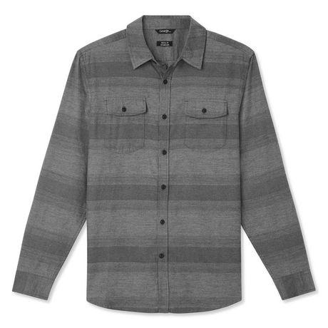 George Men's Herringbone Flannel Shirt - image 6 of 6