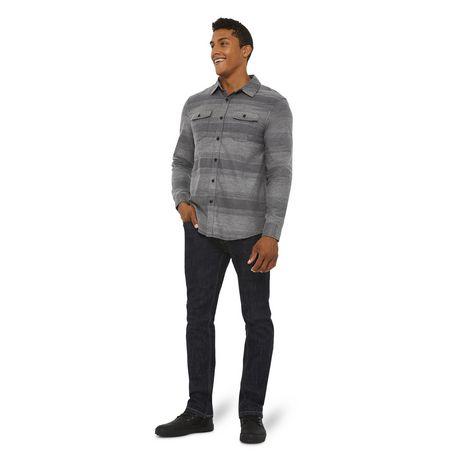 George Men's Herringbone Flannel Shirt - image 5 of 6