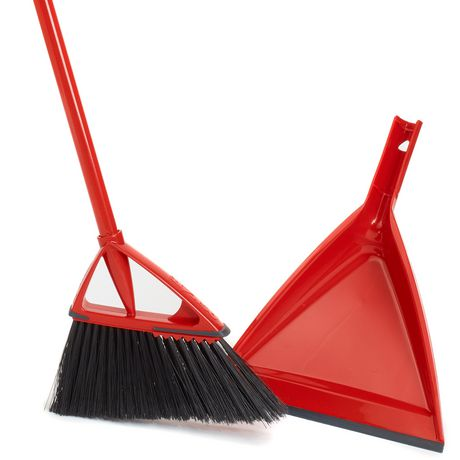 Vileda Oskar Broom with Dustpan
