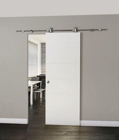 Merveilleux Home Style Stainless Steel Loft Rail Sliding System