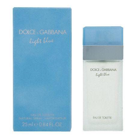Femmes Blue Vaporisateur Toilette Ml Light De Pour Gabbana Dolceamp; 25 Eau JTKFc1l