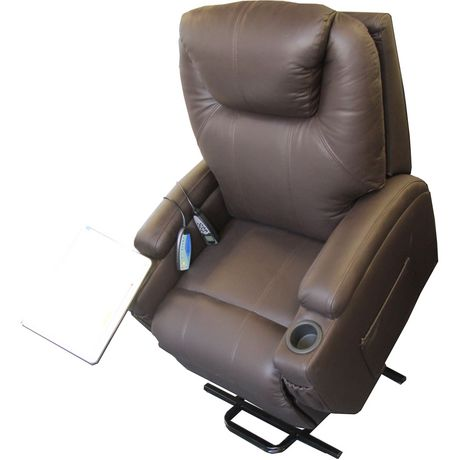 Mercury Top Grain Leather Lift Chair Walmart Canada