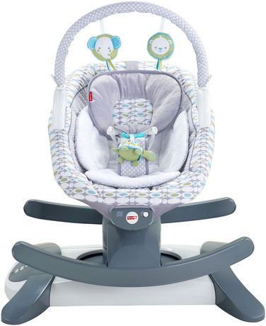 Fisher price 4 in 1 rock 39 n glide soother walmart canada for Chaise bercante walmart