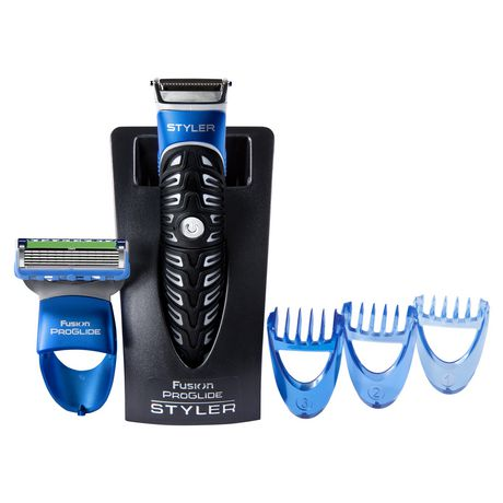 gillette fusion proglide styler 3 in 1 men 39 s body groomer with beard trimmer. Black Bedroom Furniture Sets. Home Design Ideas