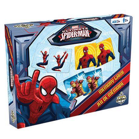 Jeu de mémoire édition ultime Spider-Man de Marvel - Bilingue - image 1 de 3