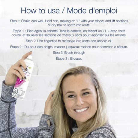 Dove Invigorating Dry Shampoo - image 5 of 8