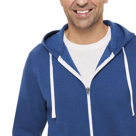 George Men's Full Zip Hoodie - image 4 of 6