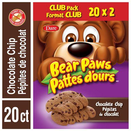 Pépites de chocolat Pattes d'ours - image 1 de 2