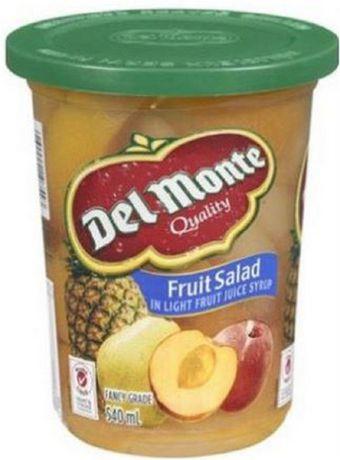 salade de fruits dans un sirop de jus de fruits l ger de del montemd walmart canada. Black Bedroom Furniture Sets. Home Design Ideas