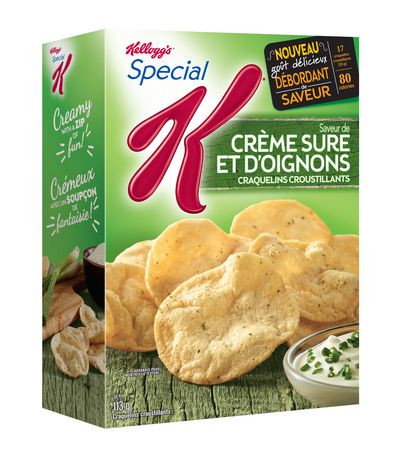 kellogg 39 s special k sour cream and onion cracker chips walmart canada. Black Bedroom Furniture Sets. Home Design Ideas